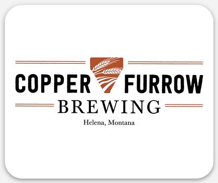 Copper Furrow Sticker
