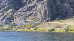 The Hardy Bridge on the Missouri River