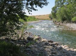 Boulder River at Big Rock fishing access