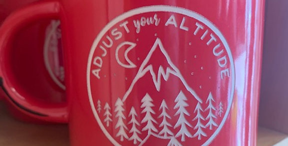 Spark Mug - Adjust Your Altitude