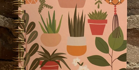 Potted plants journal