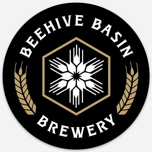 Beehive Basin Logo Sticker