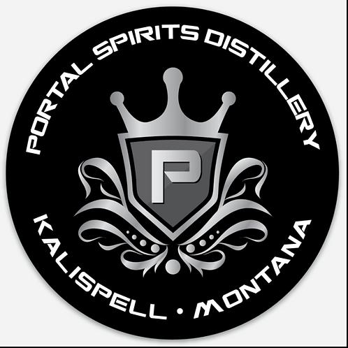 Portal Spirits Circle Sticker