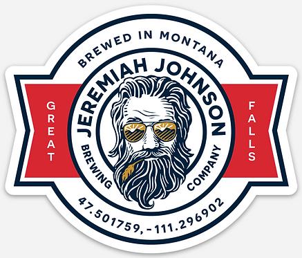 Jeremiah Johnson Die Cut Sticker