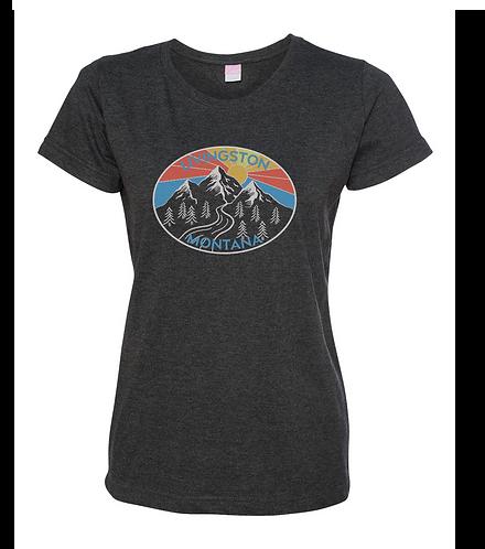 Livingston MT Mountain Sunshine Ladies T-Shirt