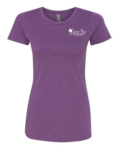 Snow Hop Womens T-Shirt