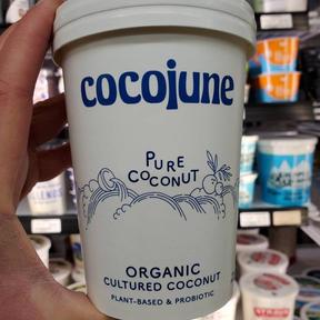 CocoJune Plant Based Yogurt