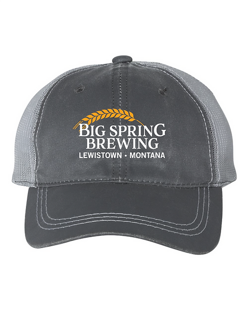 Big Spring Brewing Weathered Trucker