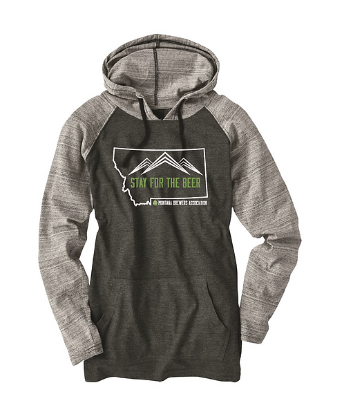 MBA Stay for the Beer Hoodie