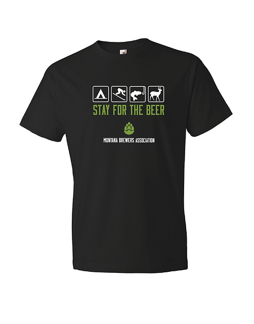 MBA Stay for the Beer Road Sign T-Shirt
