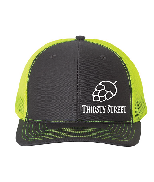 Thirsty Street Neon Trucker Hat