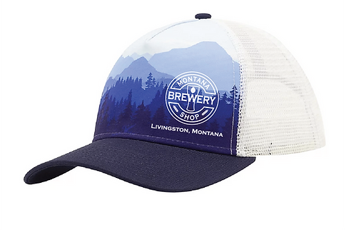 Montana Brewery Shop Treeline Vista Trucker Hat