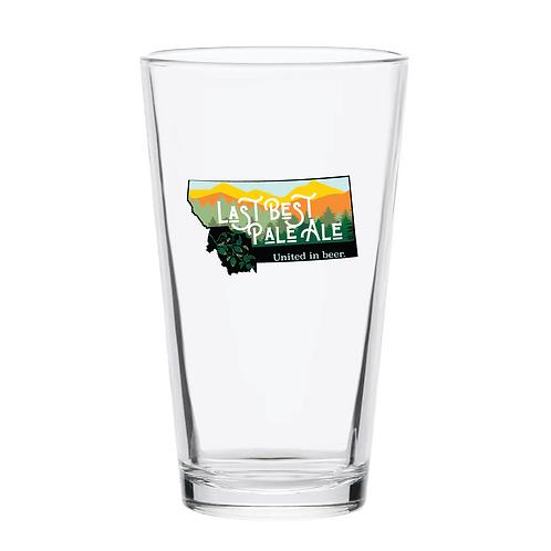 MBA Last Chance Pale Ale Pint Glass