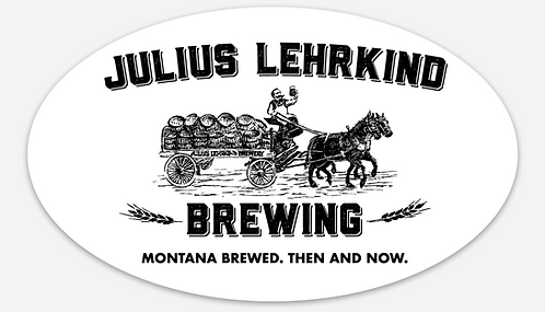 Julius Lehrkind Sticker