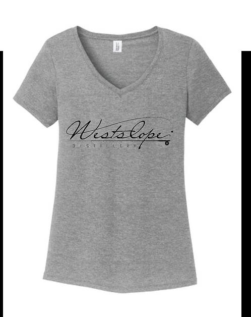 Westslope Distillery Women's V Neck T-Shirt