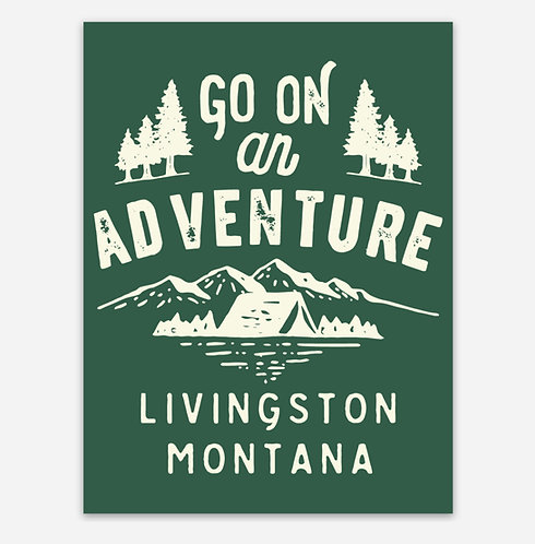Go on an Adventure Sticker