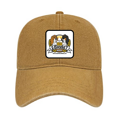 2 Basset Brewing Canvas Hat
