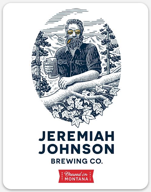 Jeremiah Johnson Rectangle Sticker