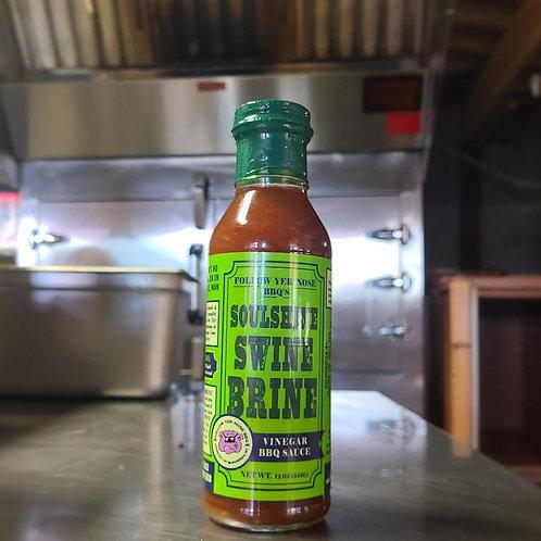 Soulshine Swine Brine BBQ Sauce