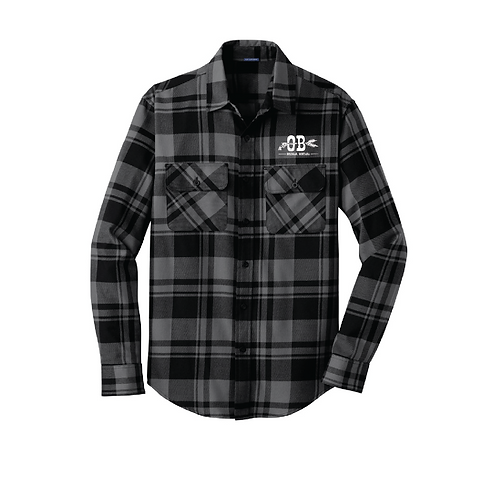 Outlaw Brewing Flannel Shirt