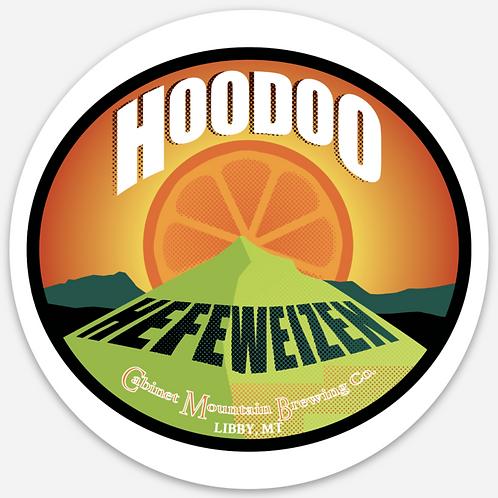 Hoodoo Hefe Sticker