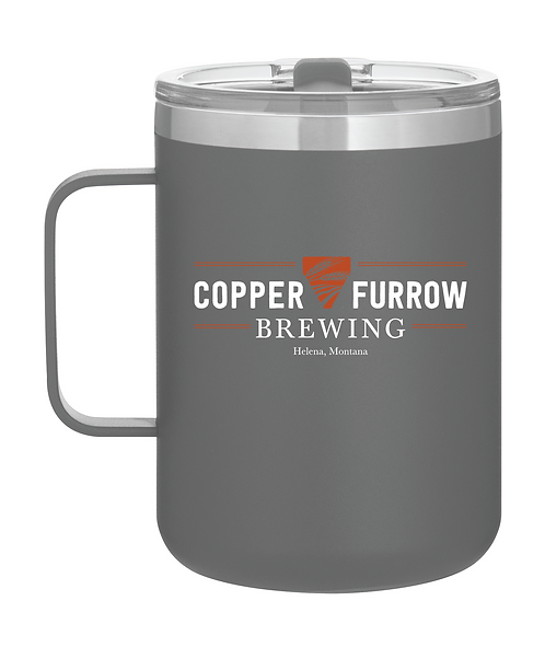 Copper Furrow Camp Mug