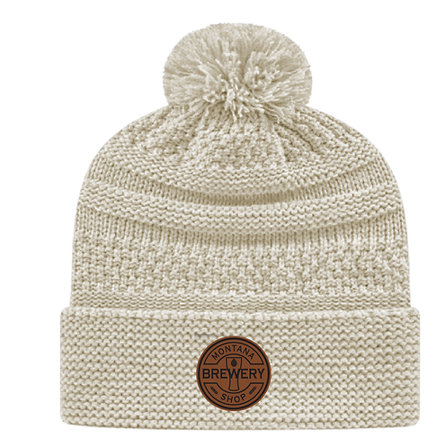 Montana Brewery Shop Cable Knit Beanie