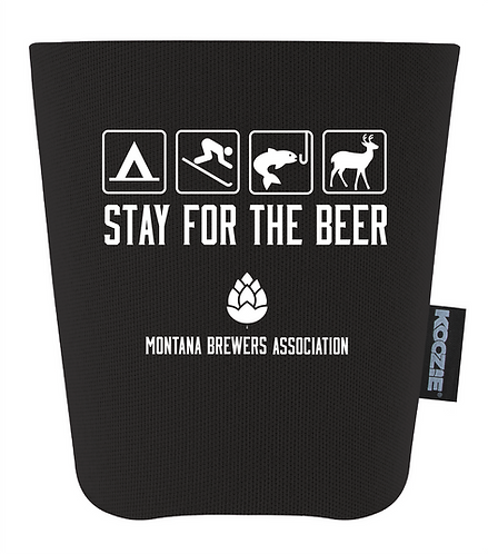 MBA Pint Glass Coozie