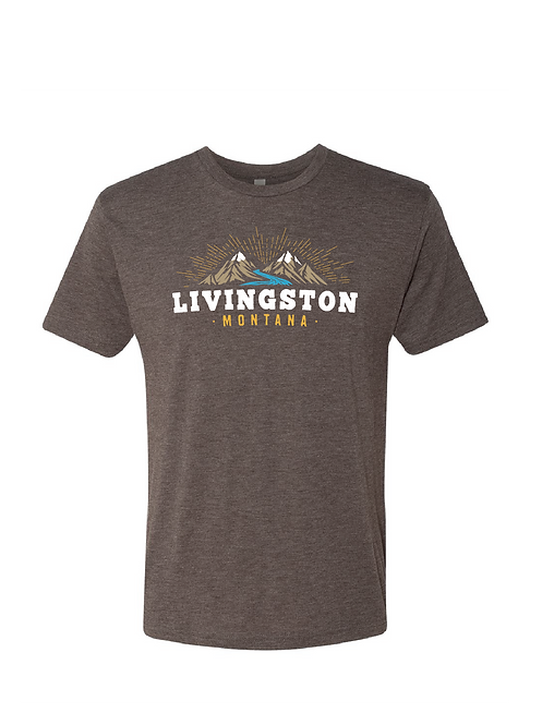 Livingston MT Shining Mountains T-shirt