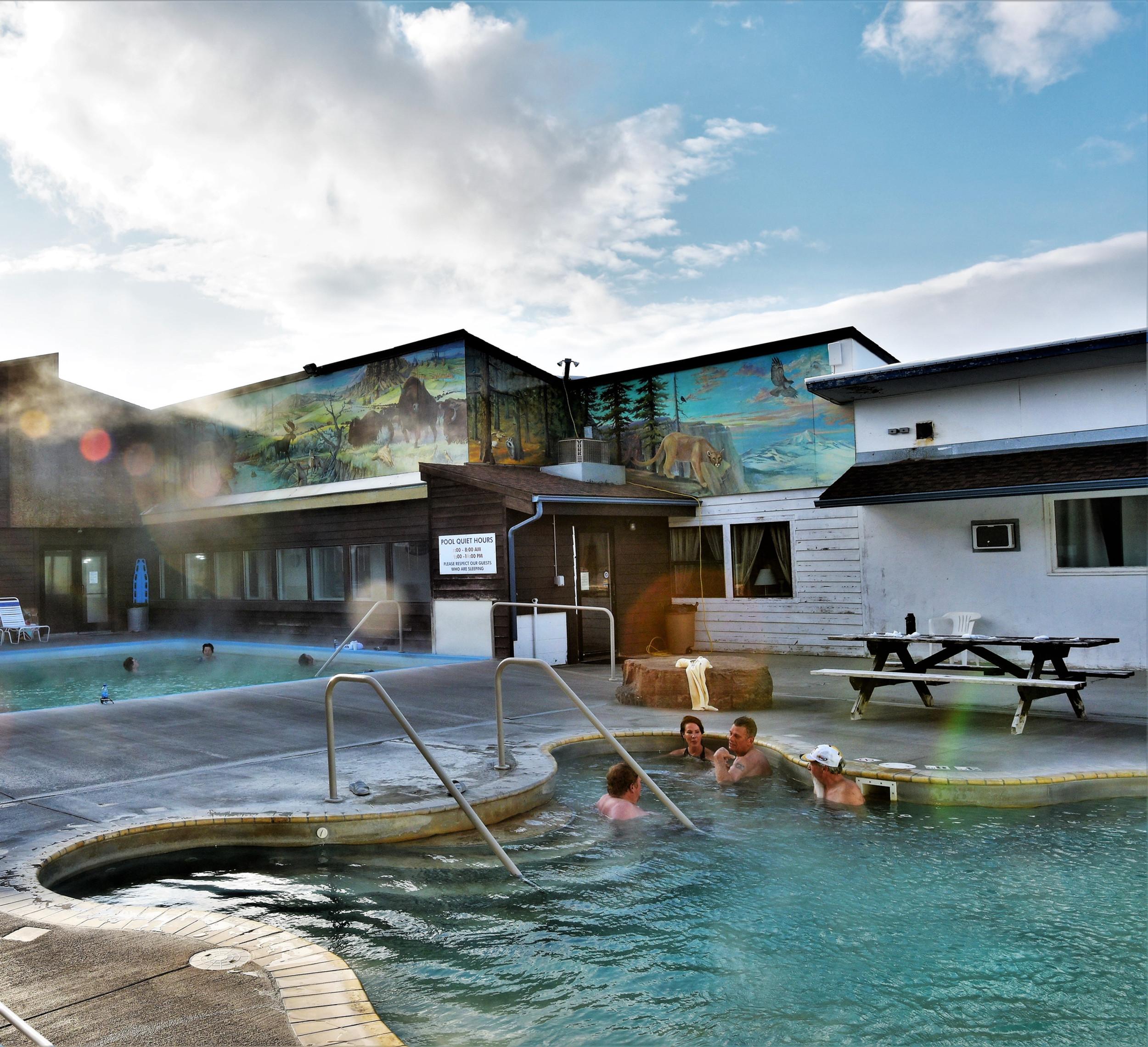 Spa Hot Springs Motel White Sulphur Springs Mt