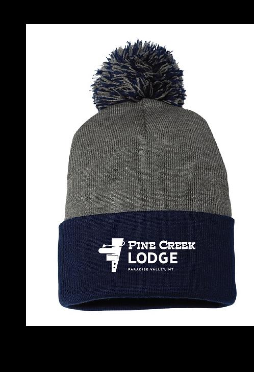Pine Creek Lodge Pom Beanie