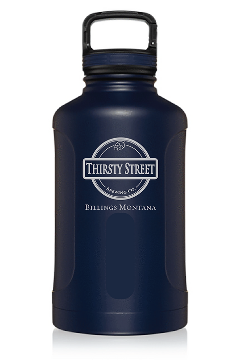 Thirsty Street Insulated Growlers