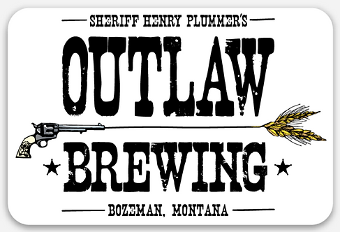 Outlaw Brewing Sticker