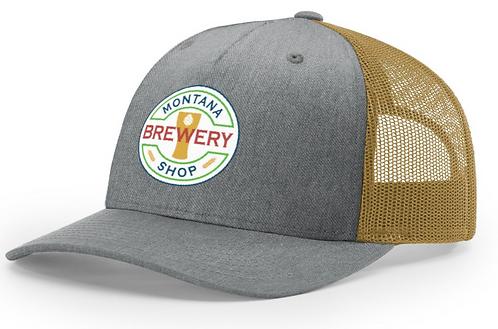 MT Brew Shop Patch Trucker Hat