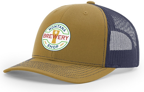 Montana Brewery Shop Trucker Hat with Patch