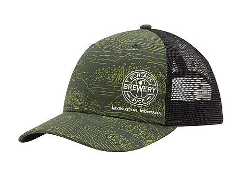 Montana Brewery Printed Nomad Trucker Hat