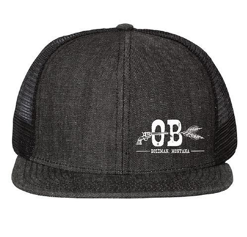 Outlaw Brewing Denim Trucker Hat