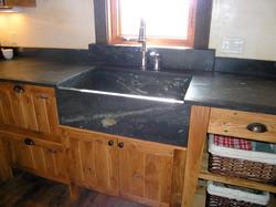 Sielr Soapstone Sink