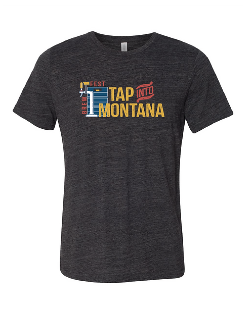 Tap into Montana Textured T-Shirt