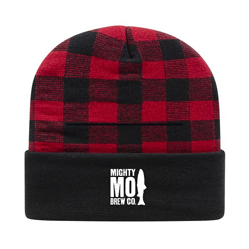 Mighty Mo Plaid Beanie