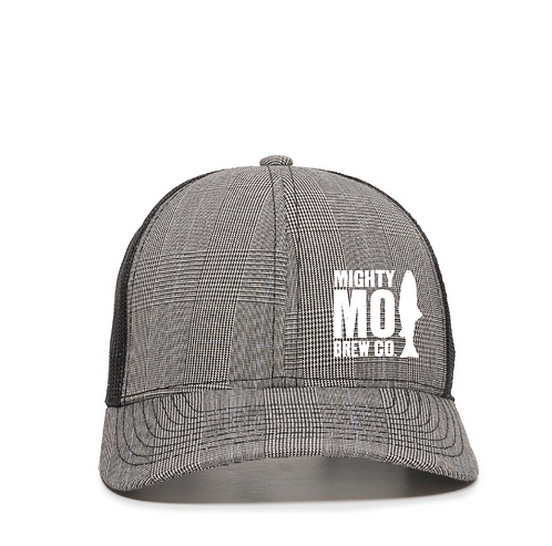 Mighty Mo Plaid Trucker Hat