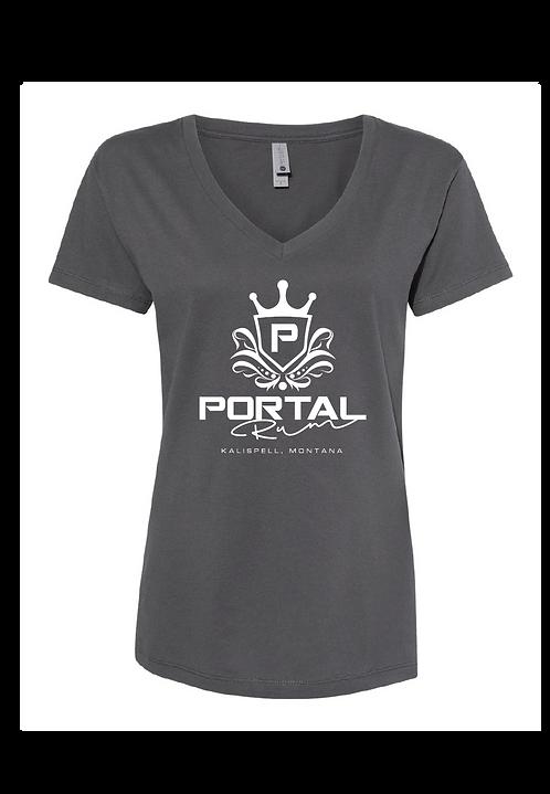 Portal Spirits Ladies V Neck T-Shirt