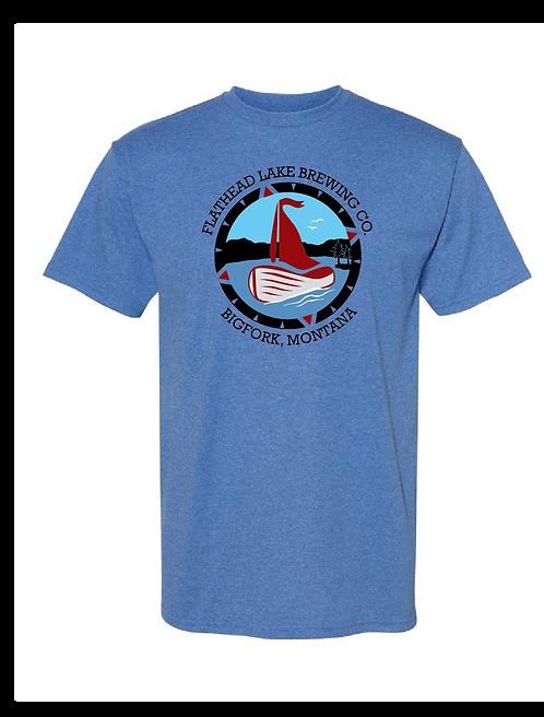 Flathead Lake Brewing Logo T-Shirt