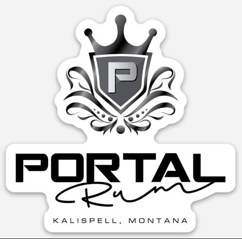 Portal Spirits Die Cut Rum Sticker