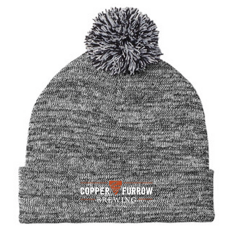 Copper Furrow Beanie