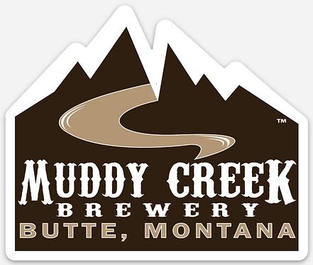 Muddy Creek Die Cut Sticker
