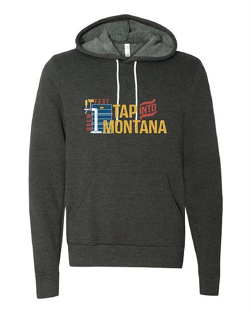 Tap into Montana Heathered Hooded Sweatshirt