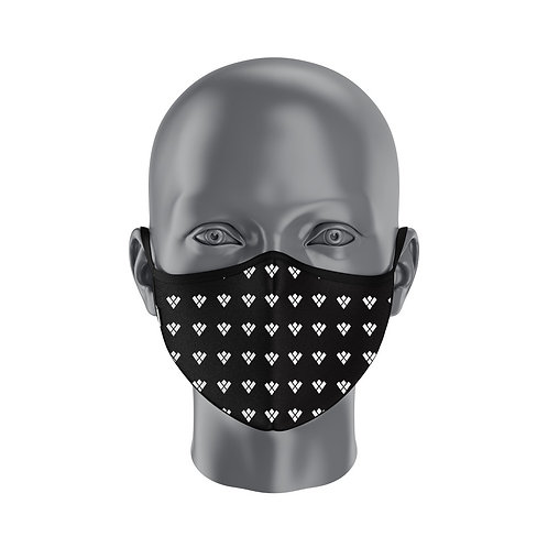 Emi Jeen Face-Mask - Black and White