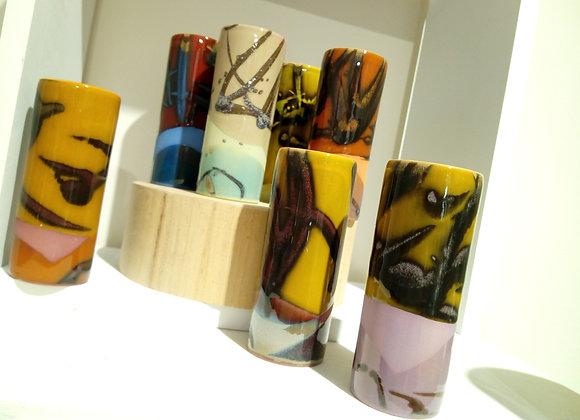 Piccolo  vaso cilindrico altezza cm 12. Little vases