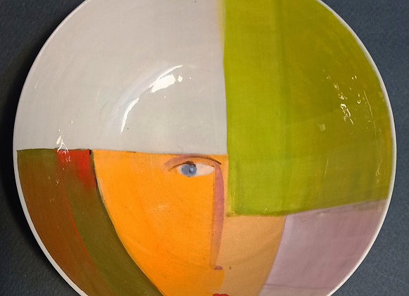 Bowl /Ciotola  serie 'dipingo'. Pezzo unico.  Dm cm 16 , alta  cm 5,5.